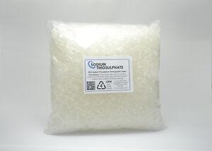 Sodium Natriumthiosul<wbr/>fat 1 kg - 99% Pure Kristalle Aquarium Dechlorierer