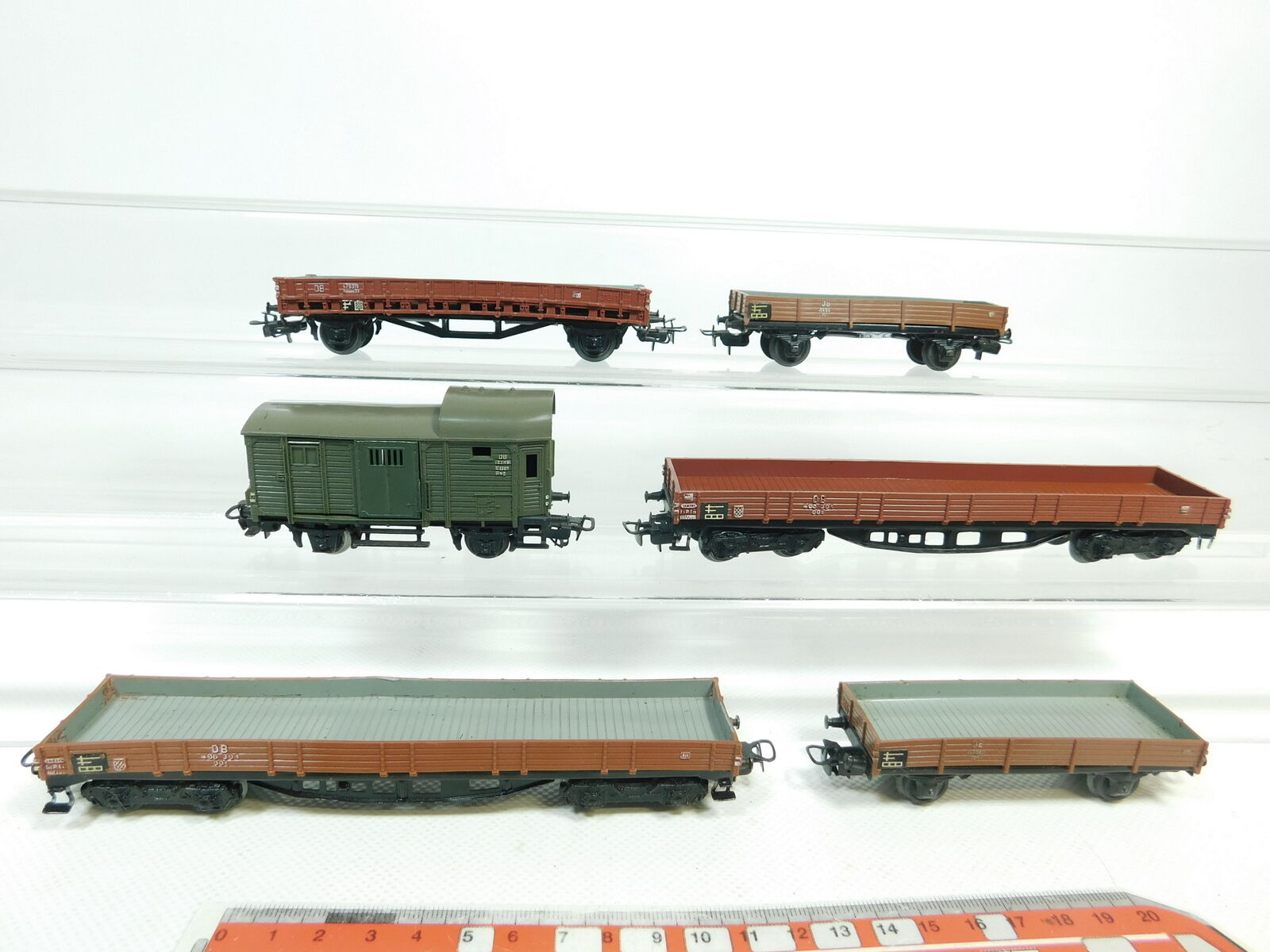 Bj380-1 X MÄRKLIN H0 AC Freight Car etc. DB  496 391 + 313 1 +305 + 310 1,