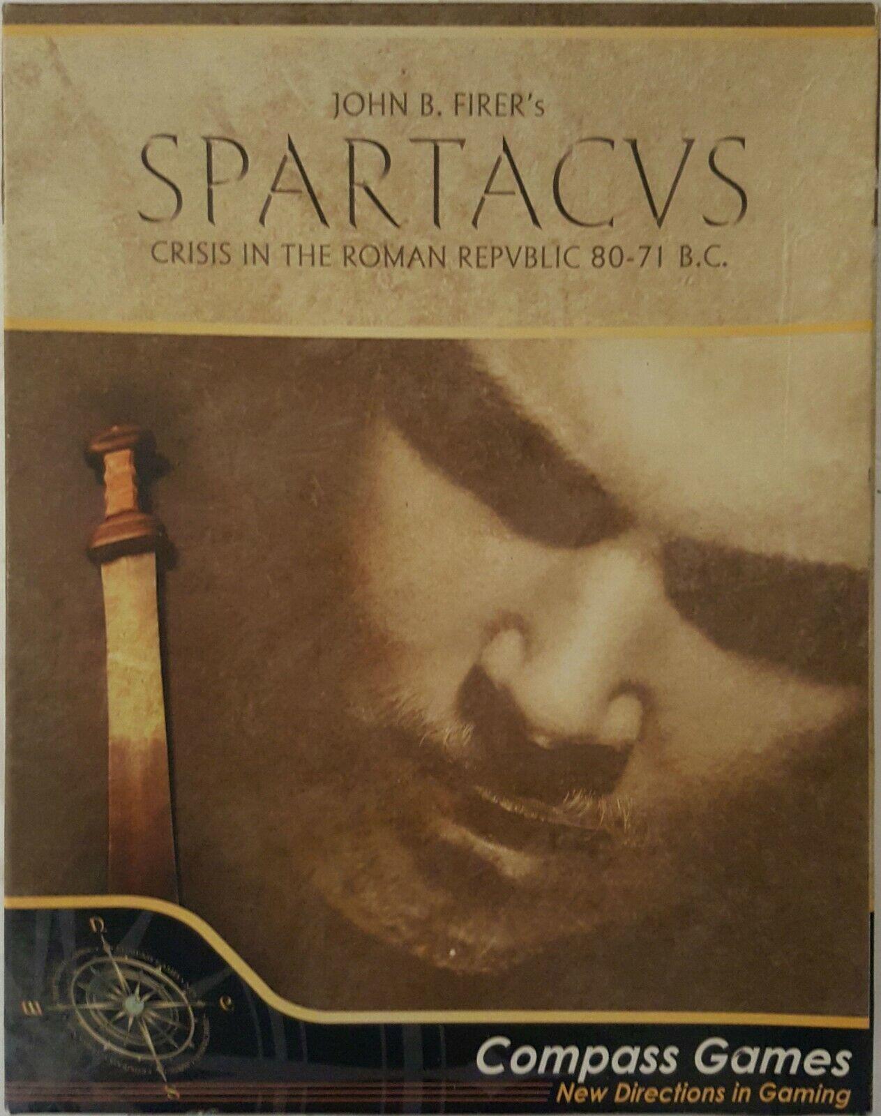 Compass Compass Compass Games Spartacus crise dans la République Romaine 80-71 AV  NEUF  RARE 0f4384