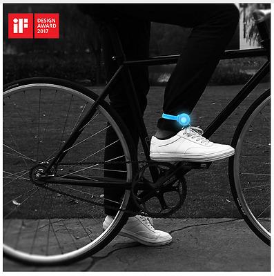 RockBros Night Warning Belt Rope Light Cycling Pants /& Bike safety Leg Strap