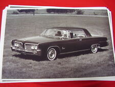 1964  CHRYSLER IMPERIAL CROWN COUPE   11 X 17  PHOTO  PICTURE