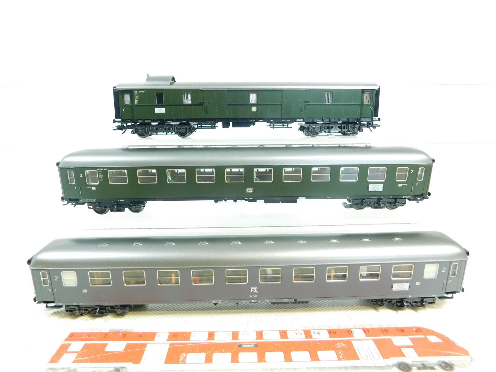 Bt90-1 x Märklin H0 Ac Riviera Express-Wagen (from Set 42941) Nem Kk
