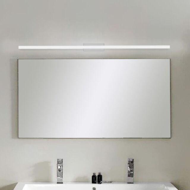 Modern Bathroom LED Vanity Lights Acrylic Front Mirror Toilet Wall Lamp Fixture