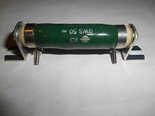 Vishay Draloric GWS 50 40 Watt 1K Ohm 10%   Vitreous Wirewound Resistor