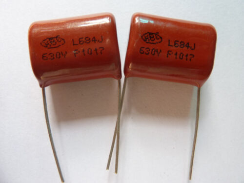 10pcs 630V 684 J 0.68uf 680nf 680000pf P20 CBB21 CBB metal film capacitor