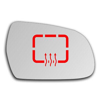 RHS Audi A3 Aile Miroir Chauffé clip sur plaque de base asphérique 05-2008 To 2013