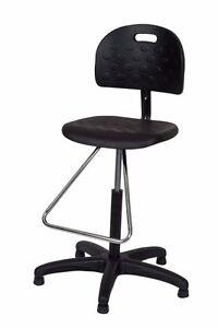 Enjoyable Details About Ergo Ease Shop Chair Workbench Teardrop Footrest Black Chrome Mds 52045 Creativecarmelina Interior Chair Design Creativecarmelinacom