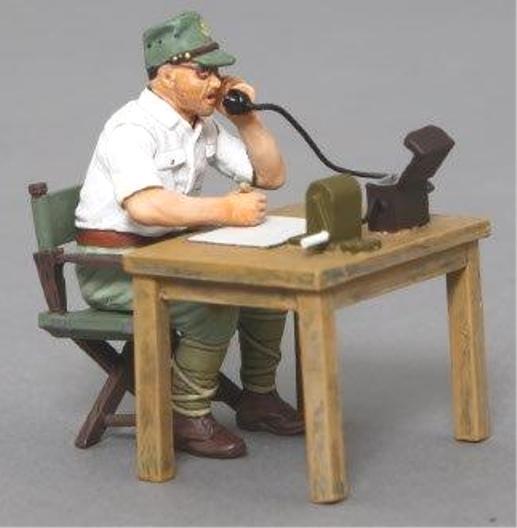 Thomas Gunn WW2 Pazifik RS040A Japanisch Telefon Operator MIB