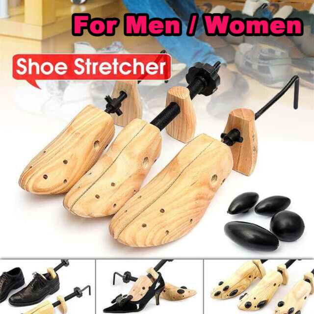 1 Pair Bendable Wooden Shoe Tree Shoes
