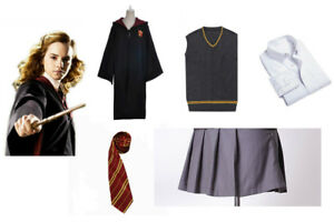 Wonderful Image Is Loading Harry Potter Cosplay Hermione Granger Costume   Gryffindor School  Sc 1 St EBay