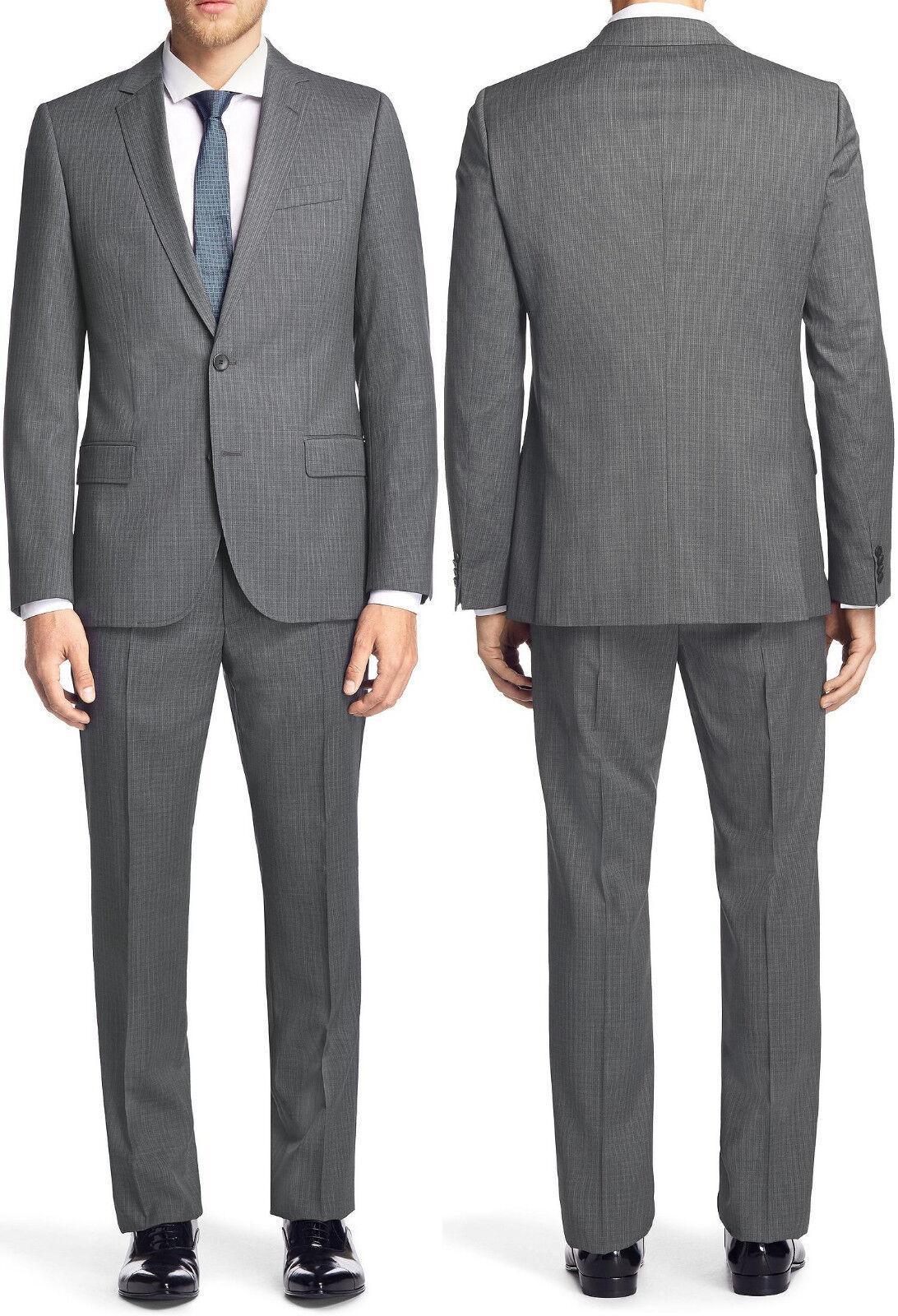 NWT Hugo (Hugo Boss) 100 Super Wool Luxurious Slim Fit Business Suit 38R