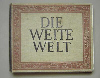 """""""die Weite Welt"""", Reise Um Die Welt In Historischen Bildern/fotos Von 1929,"""