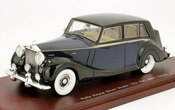 1952 Ward Rolls Royce Argent Wraith Berline Parc Ward 1952 Bleu/Noir 1:43 par Tsm d3979c