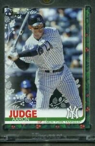 AARON-JUDGE-2019-Topps-Holiday-Vault-Blank-Back-1-1-Holographic-Sticker