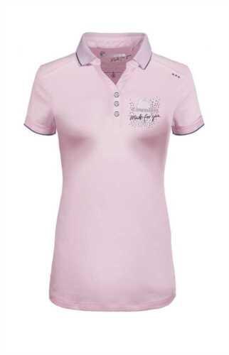 Soft rose Naomi Damen-Poloshirt Cavallo