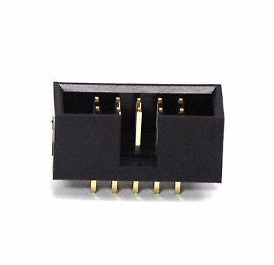 Strain Relief 280-14 10pc 2x7P 2x7 14P 2.54x2.54mm IDC Cable Plug Connector