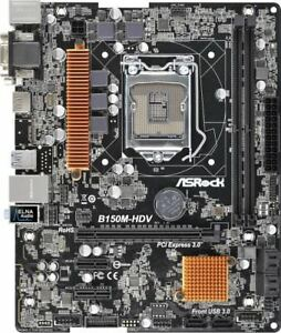 ASRock-B150M-HDV-Intel-1151