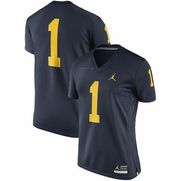 buy popular 39493 e0f44 Jordan Women Michigan Wolverines Replica Game Football Jersey Size XXL for  sale online | eBay