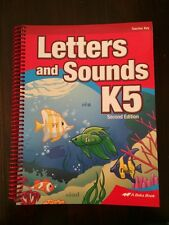 Abeka K5 Letters And Sounds 2nd Edition