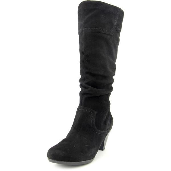 1d7531765ef Buy Blondo Daphne Women US 7.5 Black Knee High Boot online