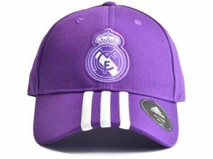 1b739627850e3 Image is loading Official-Real-Madrid-Football-Club-Purple-Adidas-Baseball-
