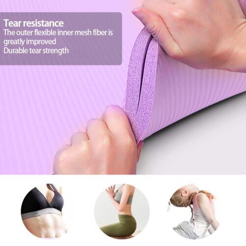 Fitnessmatte Yogamatte Gymnastikmatte Sportmatte Pilatesmatte Turnmatte JOYHUT
