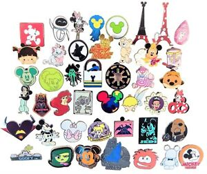 Disney-Pin-Trading-30-Assorted-Pin-Lot-Brand-NEW-Pins-No-Doubles-Tradable