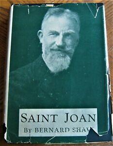 first-American-edition-SAINT-JOAN-by-GEORGE-BERNARD-SHAW-in-dustjacket-1924-book
