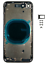 miniatuur 18 - Châssis Arrière Pour Iphone SE 2020 SE2 Coque Vitre Arrière Logo CE