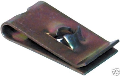 SPEED FASTENERS SPIRE CLIPS /'U/' NUTS ZINC PLATED NO.12 QTY 5