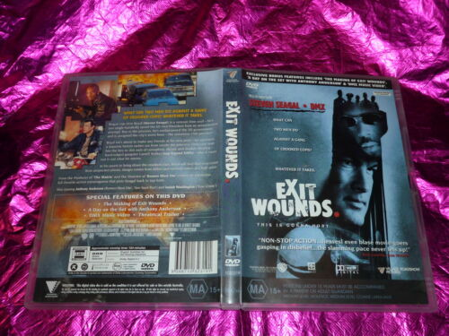 1 of 1 - EXIT WOUNDS (DVD, MA 15+)