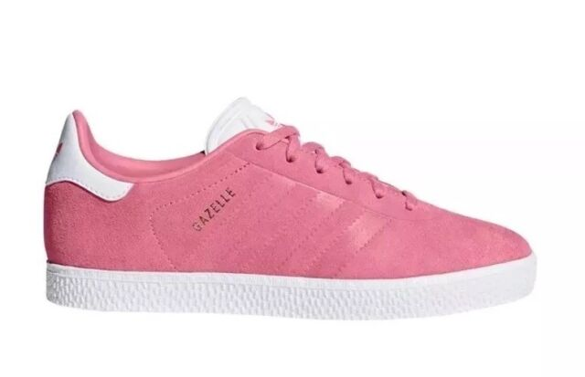 0ba7979e926 adidas Gazelle J Suede Youth Size 5y Casual Shoes Pink Cq2882 for ...