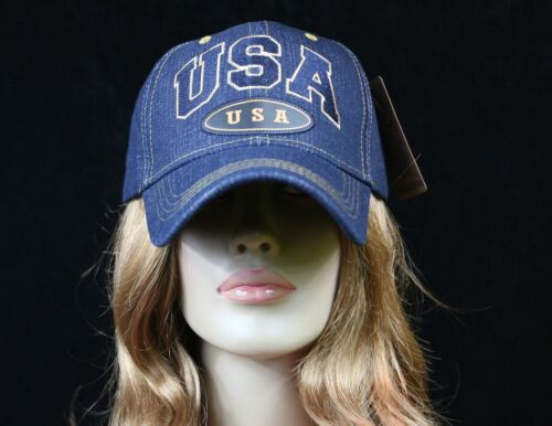Men/'s Baseball Cap Hat Plain Denim Jean Hat Fashion Casual Hip Hop Dad Hats