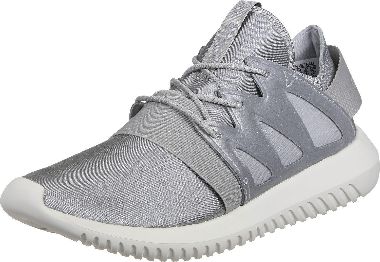 NEW** Adidas Women's Shoes TUBULAR VIRAL W S75907 Metallic Silver White Casual