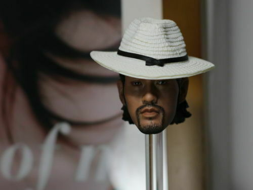 1 6 6 6 Scale Kung Fu Hustle Gangster Male Head Sculpt W Hat&Axe For 12'' cifra giocattolo d25299