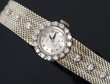Vintage Ladies 18K White Gold & Diamond ROLEX COCKTAIL WATCH