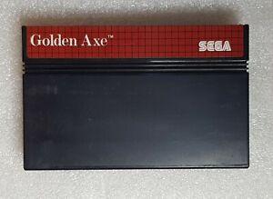 Golden Axe Edition PAL Sega Master System ( cartouche )
