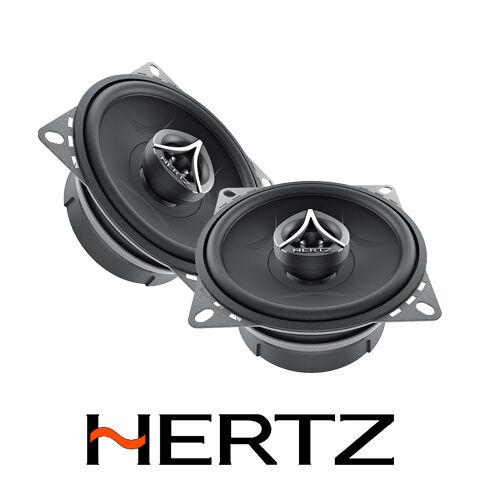 "HERTZ ENERGY ECX100.5 4/"" 10CM 80W WATT 2 WAY COAXIAL CHEAP CAR SPEAKERS KIT"