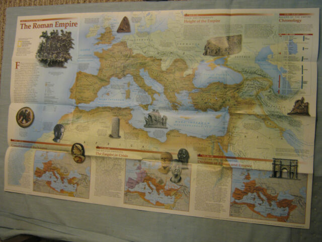 1997 National Geographic The Romans