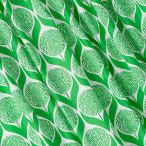 Scandinavian-fabric-remnants-half-metre-offcuts-geometric-floral-kelly-green