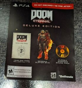 DOOM-Eternal-Deluxe-Edition-DLC-for-Ps4-Season-Pass-Demonic-Skin-No-Game