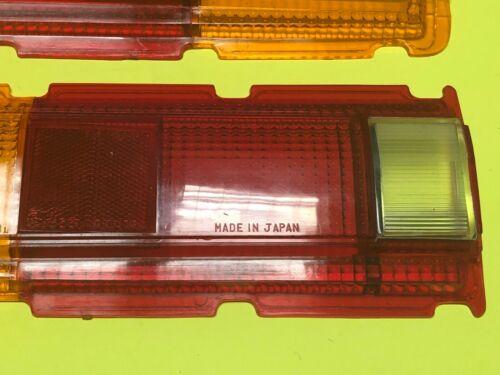 Datsun 1600 510 SSS Bluebird Euro Rear Tail light Lamps Lens Set Genuine NOS