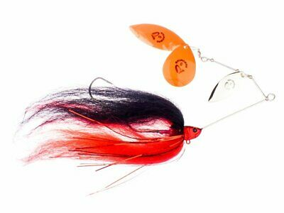 Muskie Walleye NEW! Savage Gear DA/'BUSH SPINNERBAIT 21G SINKING lures for Pike