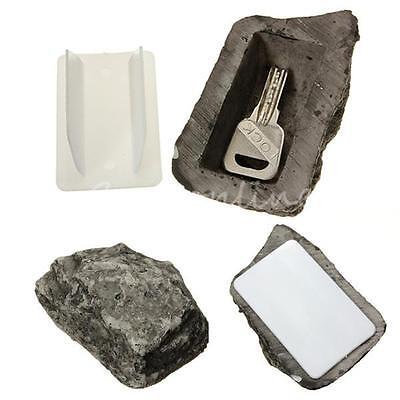 Outdoor Spare House Safe Hidden Hide Security Rock Stone Case Box for Key Hide