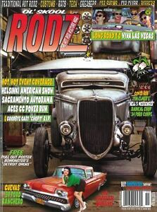 Ol-039-Skool-Rodz-magazine-78-1934-Ford-1927-Dodge-1959-Ranchero-Thunderbird