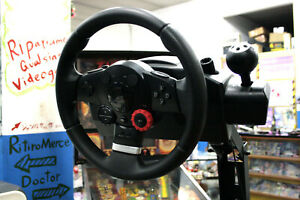 LOGITECH-DRIVING-FORCE-GT-FORCE-FEEDBACK-ORIGINALE-OTTIMO-STATO-PC-PS3-GB3-56604