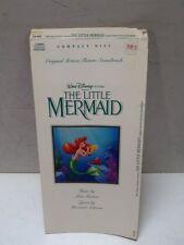 Hard To Find Disney Little Mermaid Longbox No Disc CD Soundtrack