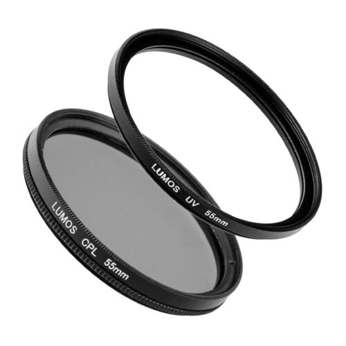 55mm filtro UV polarizador accesorios se adapta a Sony Alpha a7 III 28-70 kit de Ø 55 mm