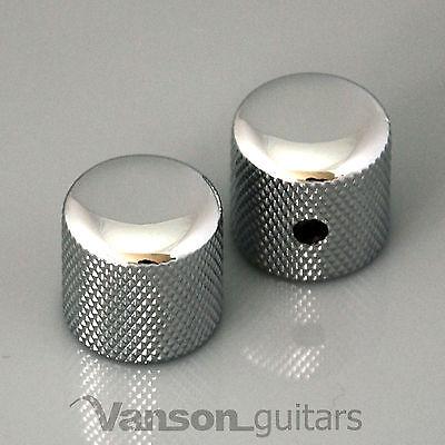 2 x NEW Vanson Rounded Screw Knobs for Fender® Telecaster®, Tele® guitar, VS002