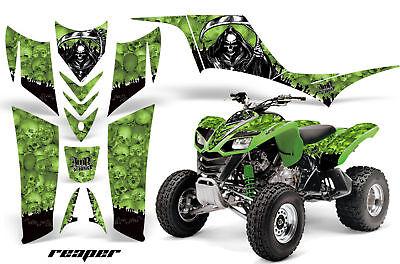 ATV Graphics Kit Quad Decal Sticker Wrap For Kawasaki KFX700 2003-2009 REAPER G